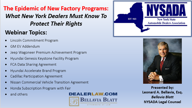 The epidemic of new factory programs